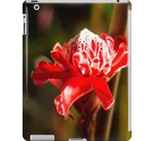 Red Flower - Macro Photography iPad Case/Skin