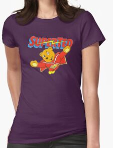 Super Ted Womens Fitted T-Shirt
