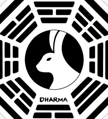 The Dharma Initiative - The Looking Glass Station Sticker