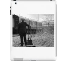 Trains Changing the points iPad Case/Skin