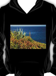 Cypress Sea Coast - Nature Photography T-Shirt