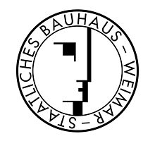 BAUHAUS WEIMAR (WHITE) by THEUSUALDESIGN