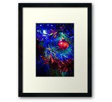 Glittering Christmas Framed Print