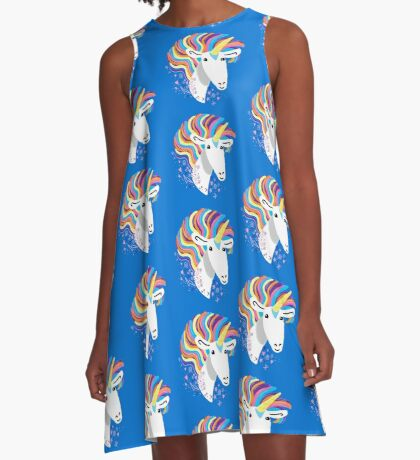completely love this unicorn A-Line Dress