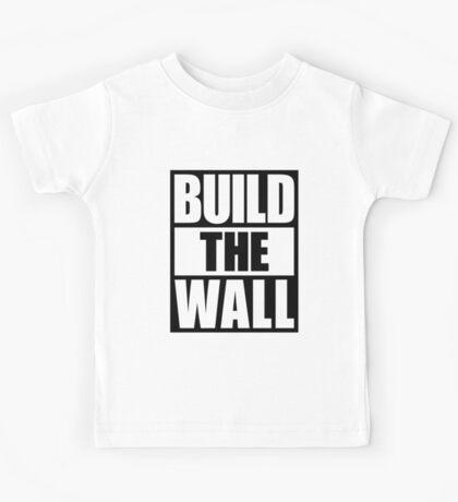 BUILD THE WALL Kids Tee