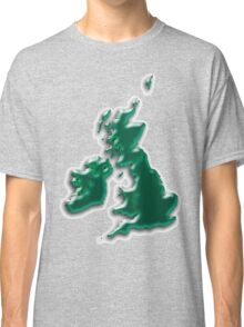 Great Britain  Map Classic T-Shirt