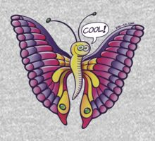 Coolorful Butterfly One Piece - Long Sleeve