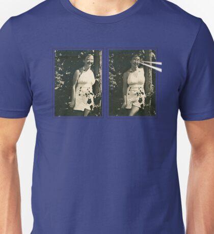 Lucy Laser-Eyes Unisex T-Shirt