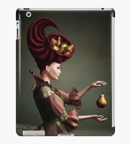 Madam Fruit and the levitating pear iPad Case/Skin
