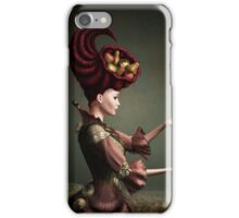 Madam Fruit and the levitating pear iPhone Case/Skin