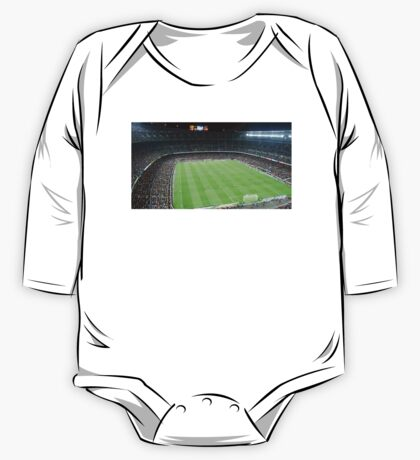 Camp Nou Crowded One Piece - Long Sleeve