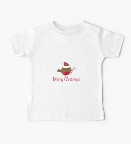 Robin Redbreast 9 Baby Tee