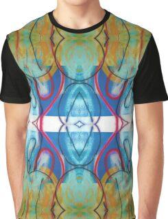 Graffiti Reflection Graphic T-Shirt