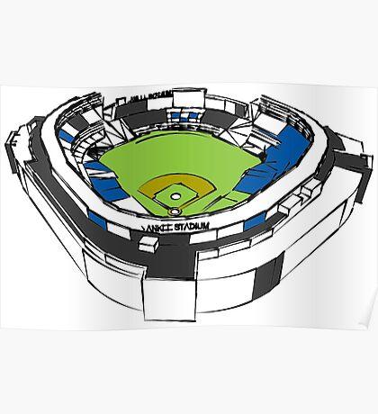 New York, Yankee Stadium Poster