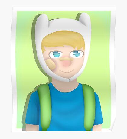 Finn (Adventure Time) Poster