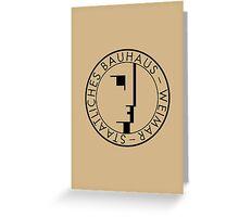 BAUHAUS WEIMAR (VINTAGE) Greeting Card