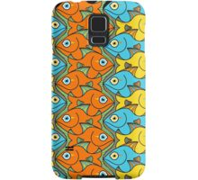 Something is Nicely Fishy Here! Samsung Galaxy Case/Skin