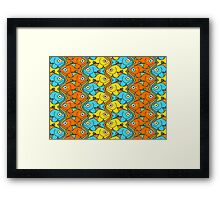 Something is Nicely Fishy Here! Framed Print