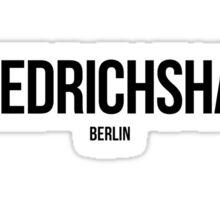 Friedrichshain, Berlin Sticker