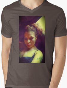 Morning Love Mens V-Neck T-Shirt