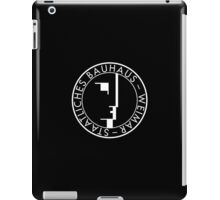 BAUHAUS WEIMAR (BLACK) iPad Case/Skin