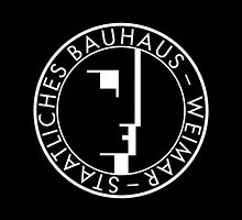 BAUHAUS WEIMAR (BLACK) by THEUSUALDESIGN
