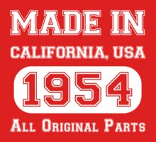 Made in California, USA, 1954.. All Original Parts !! by inkedcreatively