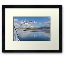 View From PortMeirion Keyside Framed Print