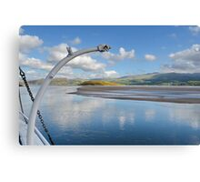 View From PortMeirion Keyside Canvas Print