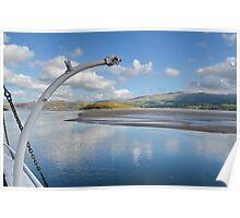 View From PortMeirion Keyside Poster
