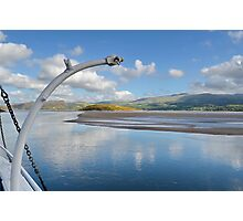View From PortMeirion Keyside Photographic Print