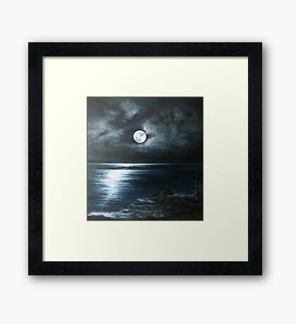 Donegal Seascape  Framed Print