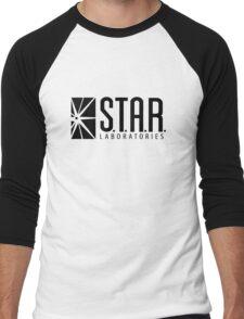 STAR LABS - LABORATORIES - Black Men's Baseball ¾ T-Shirt