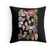Halloween Gumbo Throw Pillow