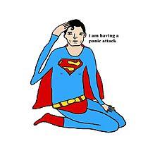 Superman Panic Photographic Print