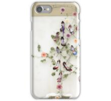 Shoes, roses and a geneology tree iPhone Case/Skin