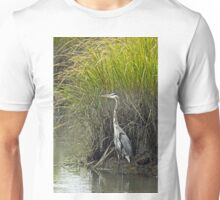 Great Blue Heron - Ardea herodias Unisex T-Shirt