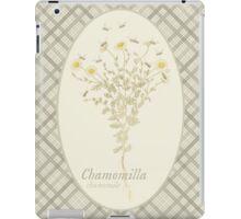 Chamomile Bees (natural) iPad Case/Skin