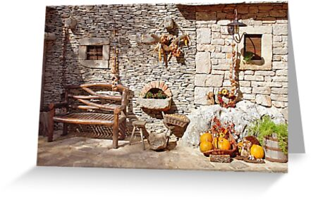Traditional Dalmatian wall by Arie Koene
