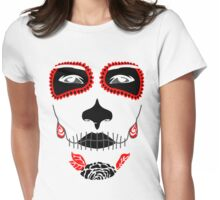 Dead Girl Womens Fitted T-Shirt