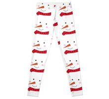 Snowman 1 red Leggings