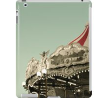 Vintage carousel ride iPad Case/Skin