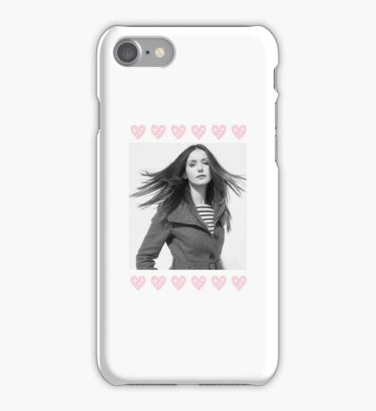 Nina Dobrev, Hearts  iPhone Case/Skin