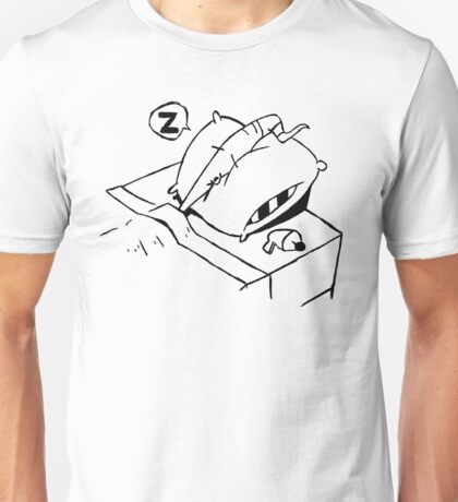 Earthworm Jim Takes a Nap Unisex T-Shirt