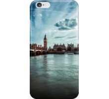 Elizabeth Tower and Thames iPhone Case/Skin