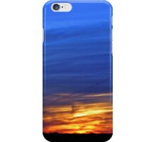 Fall on the Plains iPhone Case/Skin