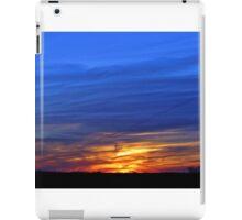 Fall on the Plains iPad Case/Skin