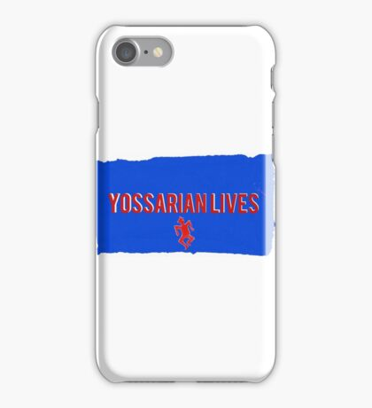 Yossarian Lives iPhone Case/Skin