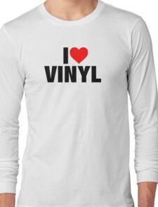 I Heart Vinyl Long Sleeve T-Shirt