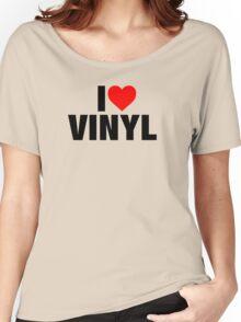 I Heart Vinyl Women's Relaxed Fit T-Shirt